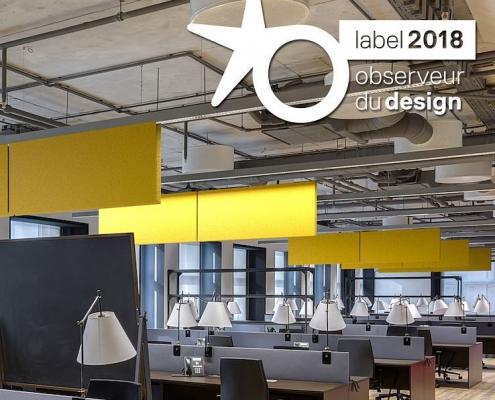 panneau acoustique observeur du design 2018