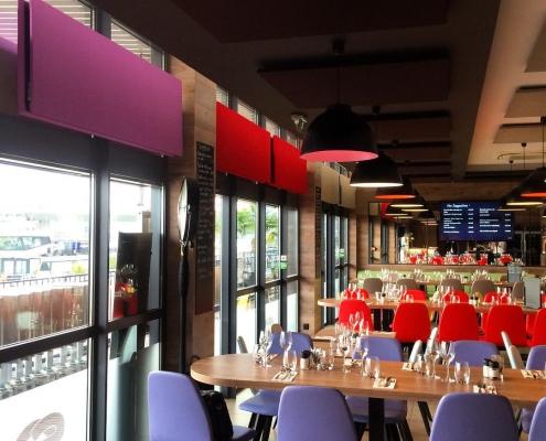 Panneau acoustique restaurant