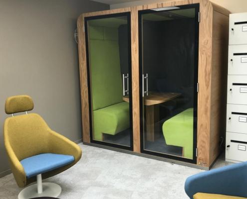 Cabine acoustique de bureau