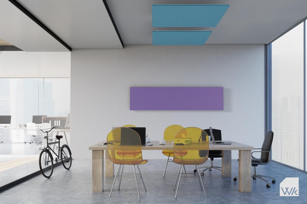 Panneau acoustique mural ou plafond